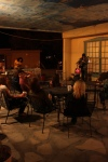 Patrons enjoy live Music at The Bean in Mesilla